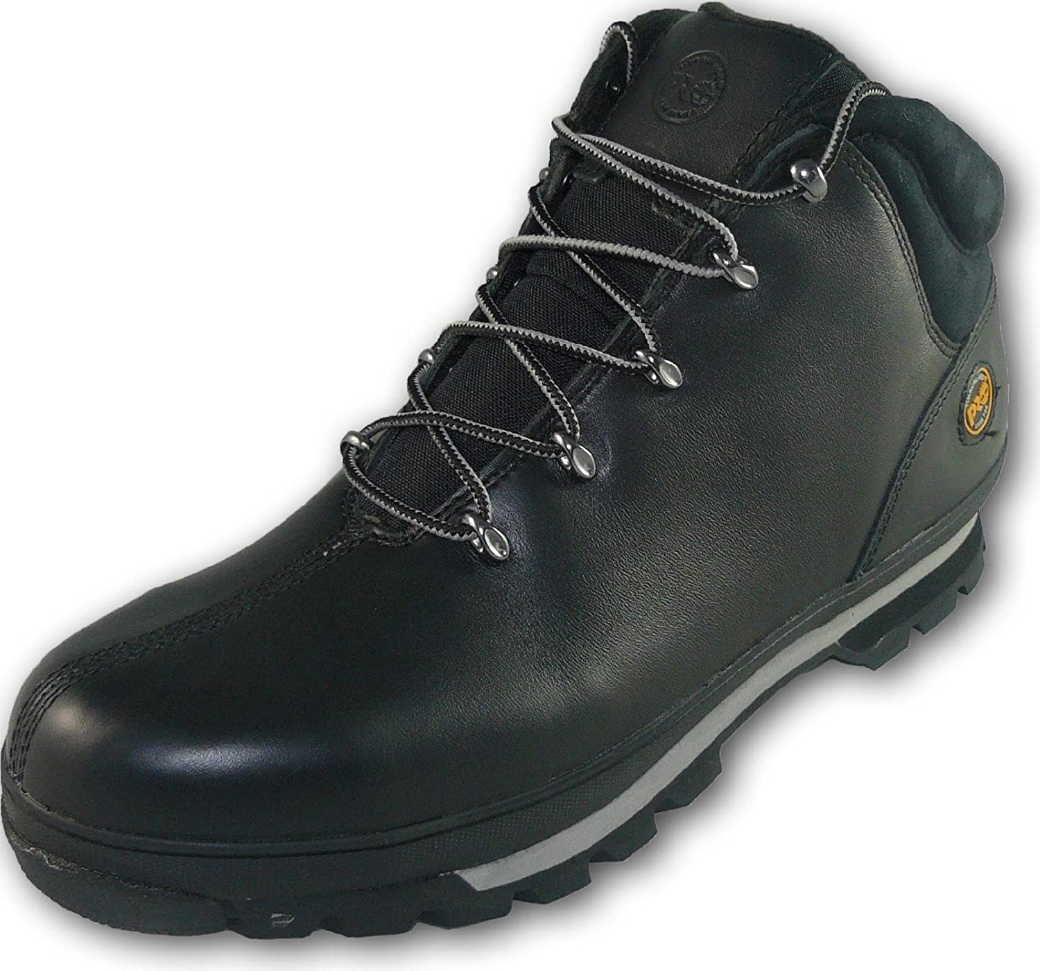 42588cc9c8e Timberland Pro UK 9 Splitrock Full Leather S3 Rating Steel Toe Work Safety  Boots - Black