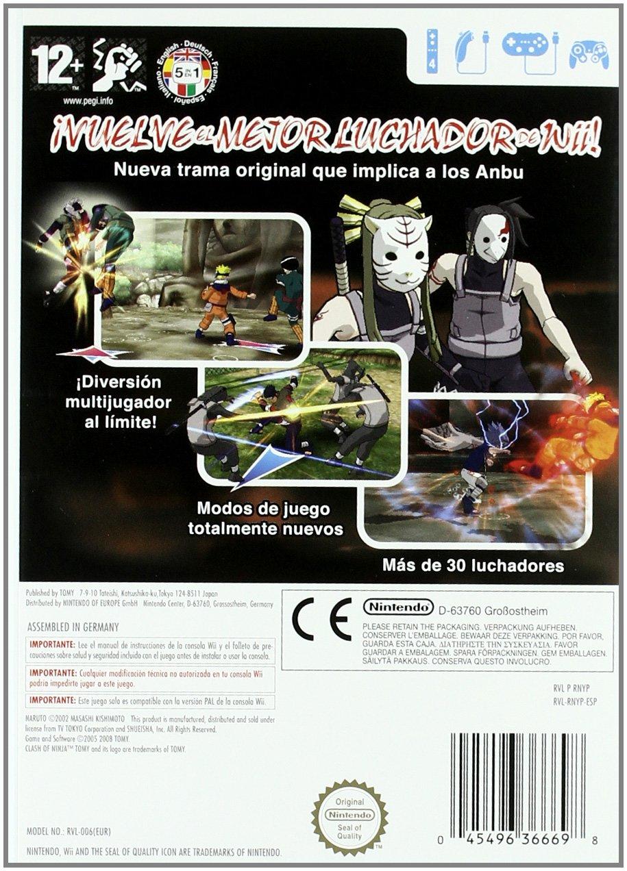 Naruto Clash of Ninja Revolution: Amazon.es: Videojuegos