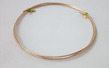 Amazon.com: 12 Gauge, Bronze Wire, Round, Dead Soft, CDA #521 ...
