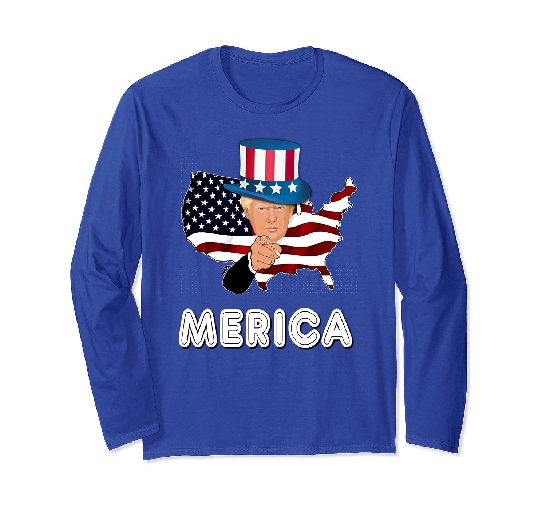 e25b5cf5 trump merica shirt murica 4th of july american flag hat gift paramatee ...