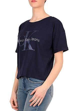 Klein J20j207039 Jeans Calvin T Shirt Donna PrimaveraestateAmazon 6I7gbyYvmf