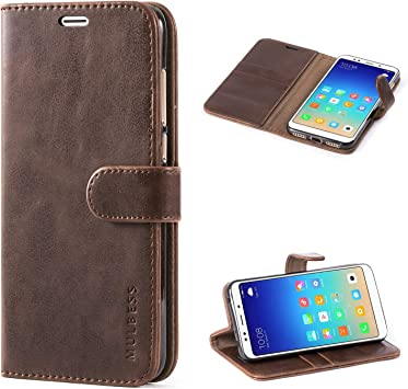 Mulbess Funda Xiaomi Redmi 5 Plus [Libro Caso Cubierta] [Vintage de Billetera Cuero] con Tapa Magnética Carcasa para Xiaomi Redmi 5 Plus Case, Negro: Amazon.es: Electrónica