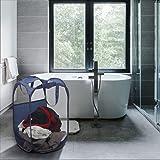 Mesh Laundry Hamper - Collapsible Laundry Basket