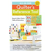 All-in-One Quilter's Reference Tool: Easy-to-Follow Charts, Tables & Illustrations - Yardage Requirements - Cutting Instructions - Setting Secrets - ... Techniques - Number Conversions - & More!