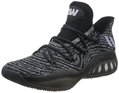 best website 15a66 04b6f adidas Crazy Explosive Low PK Primeknit Mens Basketball SneakersShoes-Black -13.5