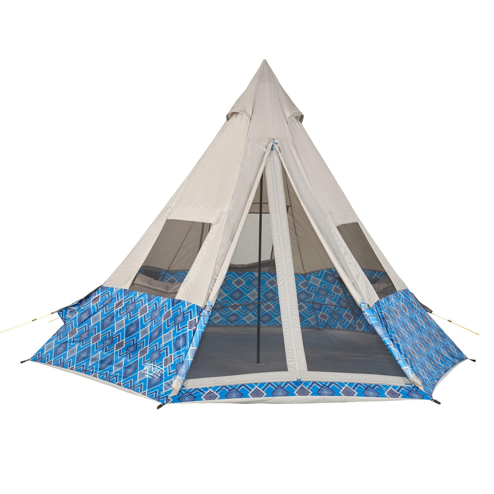 Wenzel Shenanigan 5 Person Tent, Blue