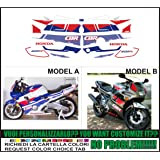 GRAPHICSMOTO h421 Kit adesivi decal stickers HONDA CBR 600 F2 1992 (ability to customize the