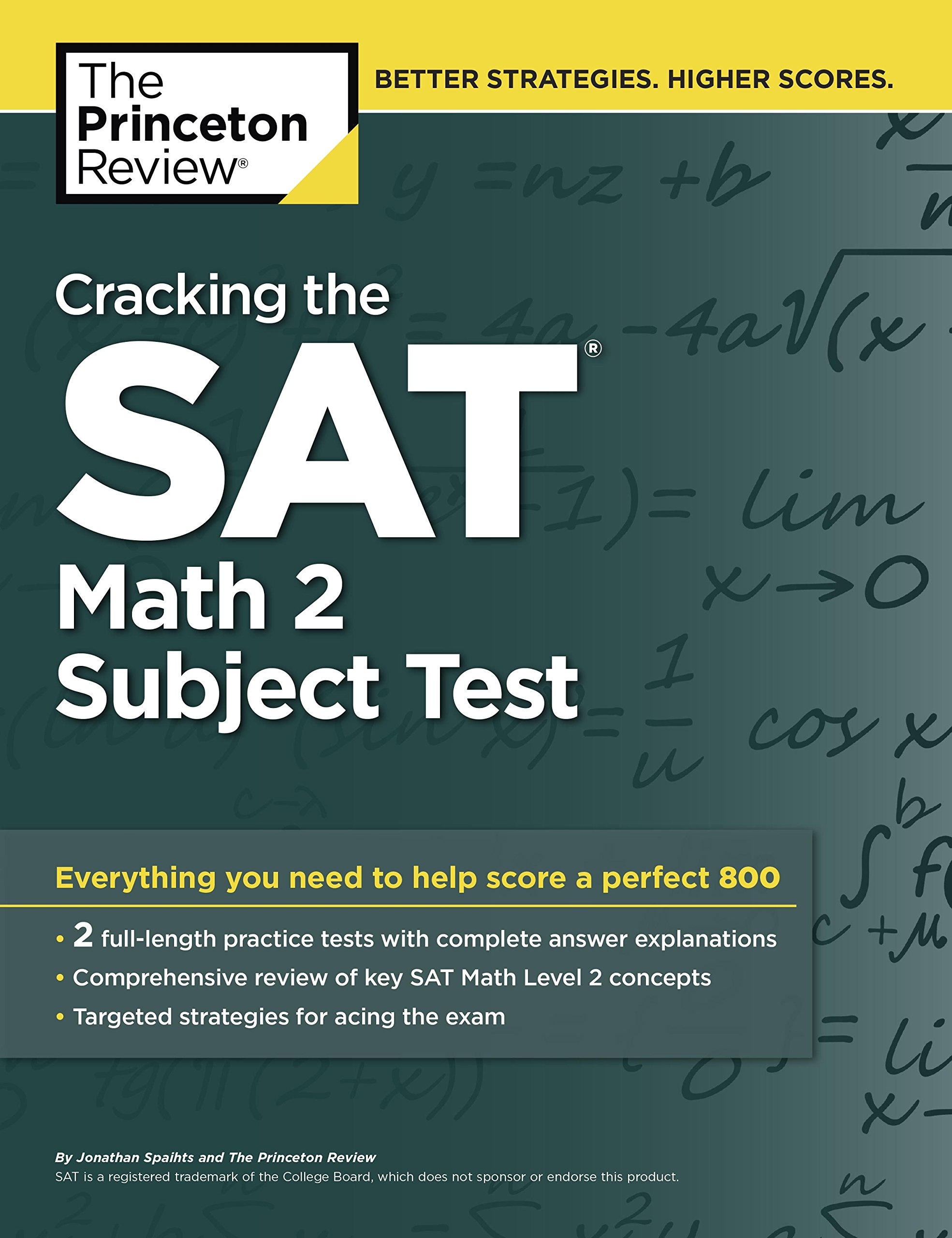 Buy Cracking the SAT Math - 2 Subject Test (College Test Preparation) Book  Online at Low Prices in India | Cracking the SAT Math - 2 Subject Test  (College ...