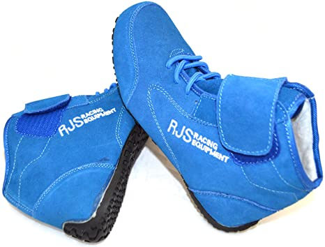 0d2c7be46241d Amazon.com: Racerdirect RJS Racing SFI 3.3/5 Racing Shoes Solid Blue ...