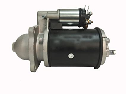amazon com 16608 starter motor for ford holland skid steer loader rh amazon com Ford Super Duty Wiring Diagram Ford Solenoid Wiring Diagram
