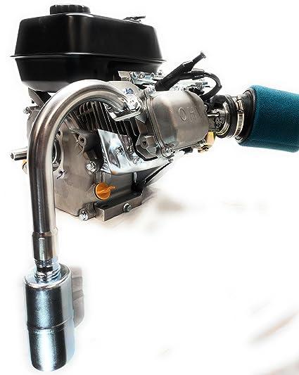 Amazon com : J Exhaust With Muffler for: Honda GX160 & GX200