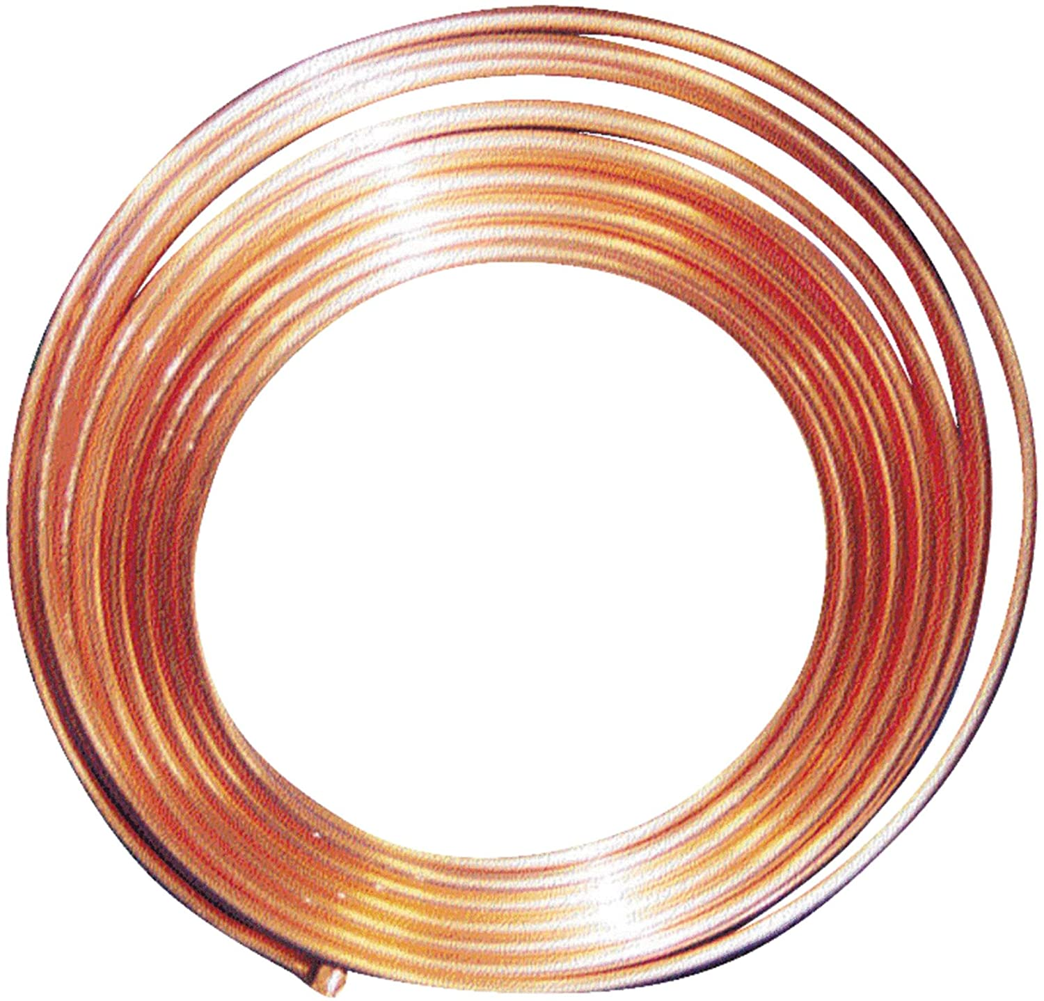 """MUELLER INDUSTRIES 616F 3//8/"""" OD x 60 ft Coil Copper Tubing Type L"""