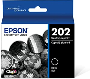 Epson T202 Claria Standard-Capacity Ink Cartridge - Black