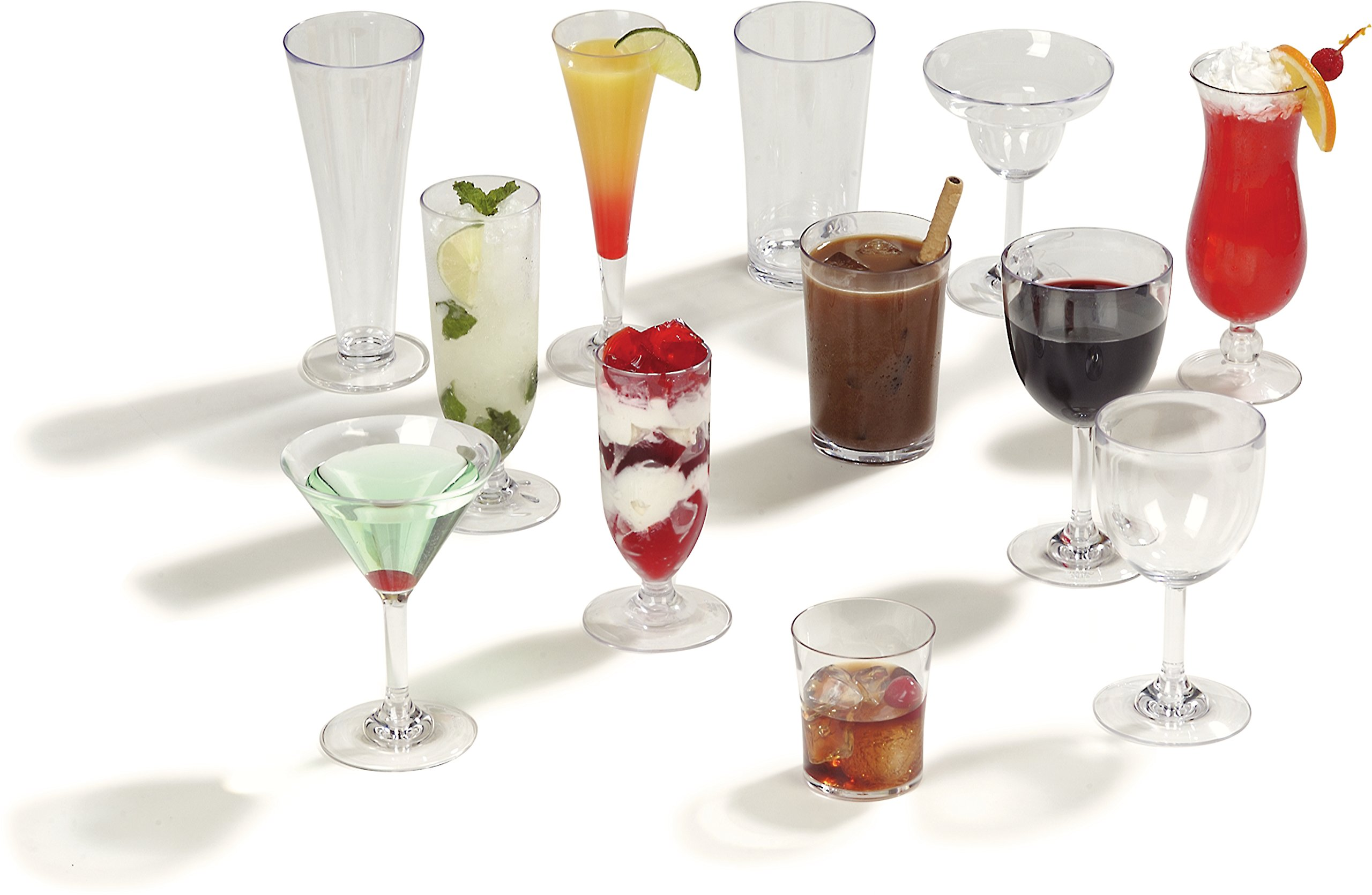 Carlisle 4362707 Liberty Polycarbonate Martini Glass, 8-oz. Capacity, Clear (Case of 24) by Carlisle (Image #7)