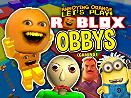 Escape Obby Roblox Watch Clip Annoying Orange Plays Roblox Obbys Gaming Prime Video