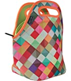 """Art of Lunch Neoprene Lunch Bag by Large [12"""" x 12"""" x 6.5""""] Gourmet Lunch Tote - Insulated Lunch Bag - A Partnership with Artists Around the World - Design by Danny Ivan (Portugal) - Pass This On"""