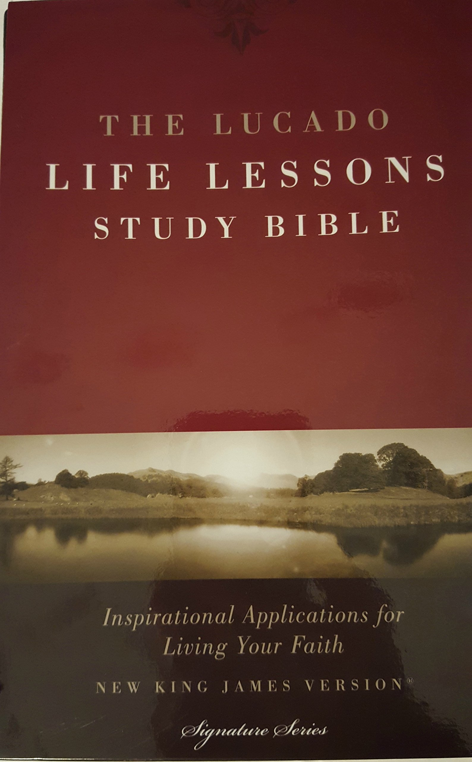 Download The Lucado Life Lessons Study Bible Inspirational Applications for Living Your Faith New King James Version Signature Series pdf