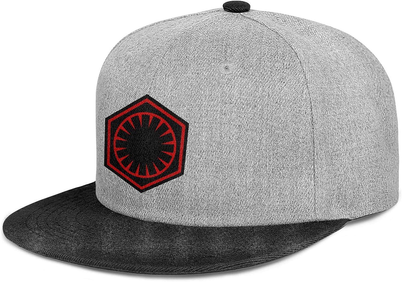 Originals Mens Snapback Cotton Adjustable Dark-Side-Alliance-Logo Baseball Cap Snapbacks Womens Flat Brim Dad Hats
