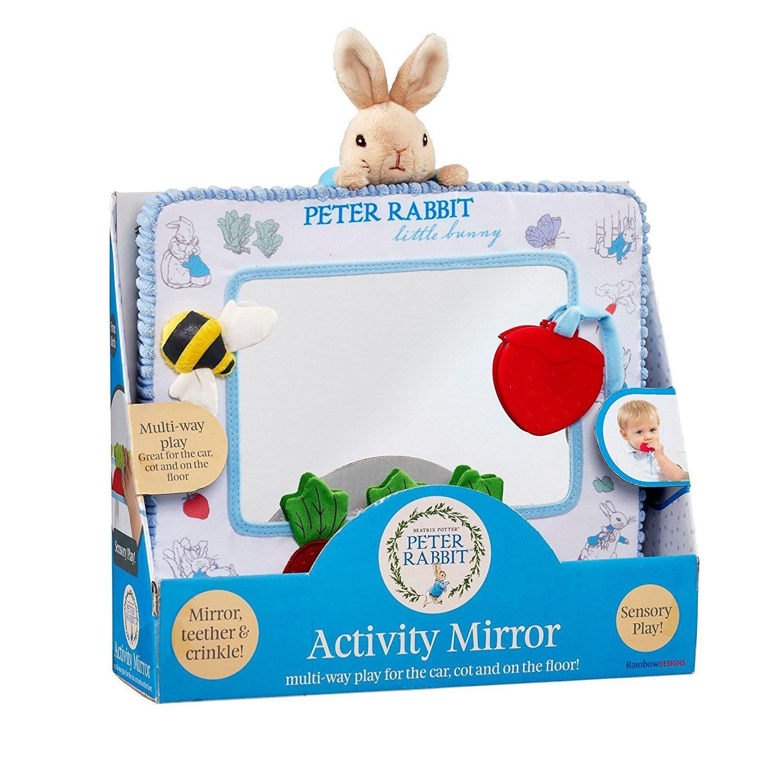 Rainbow Designs - Peter Rabbit - Miroir d'activité Beatrix Potter PO1352