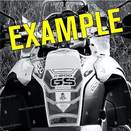 Protection de r/éservoir Compatible pour R1200 GS Adventure 2006-2013 Tank Pad R 1200 ADV 002-3