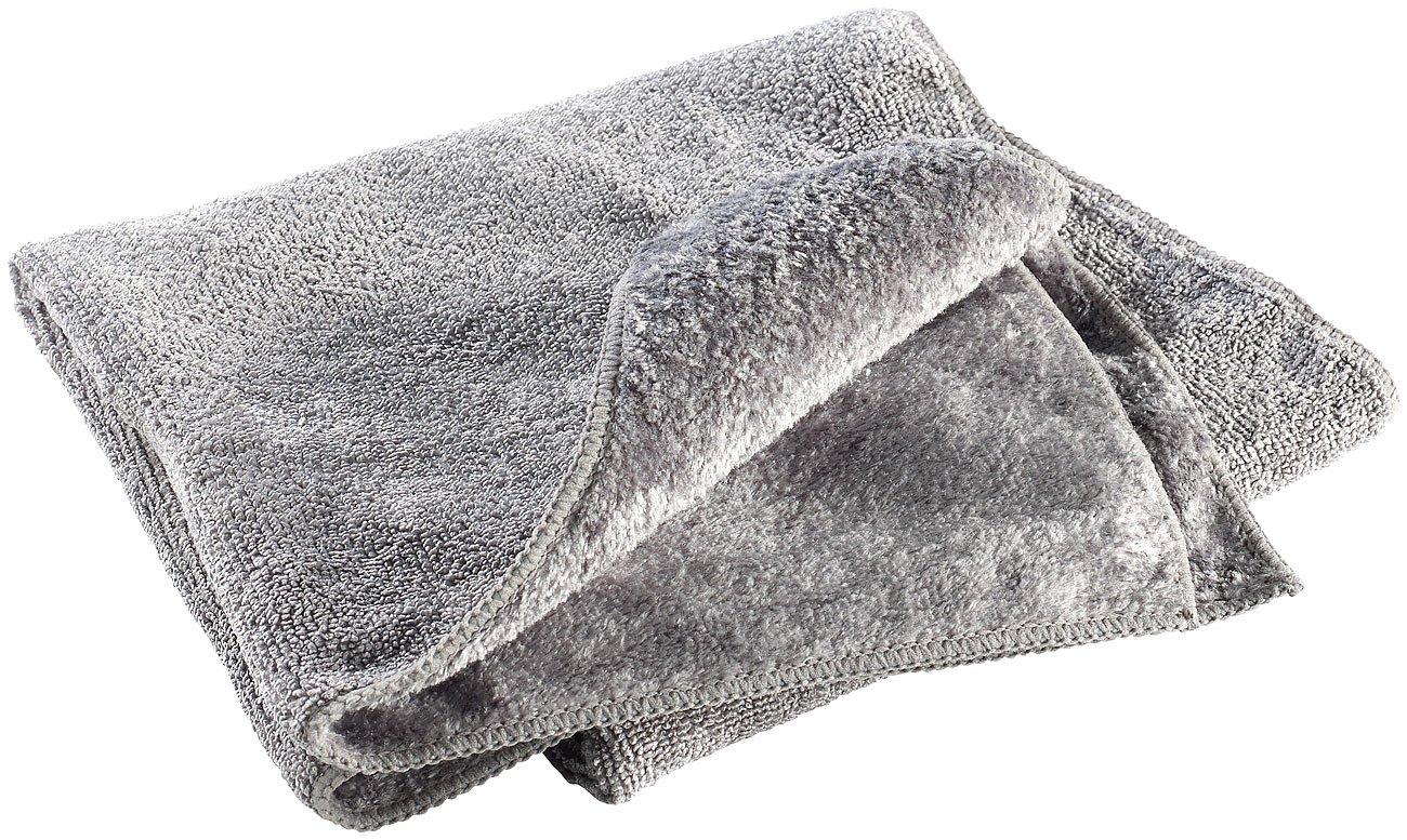 grau Handt/ücher Microfaser leicht 80 x 40 cm 2 versch Semptec Urban Survival Technology Gastro-Handtuch: Mikrofaser-Handtuch Oberfl/ächen