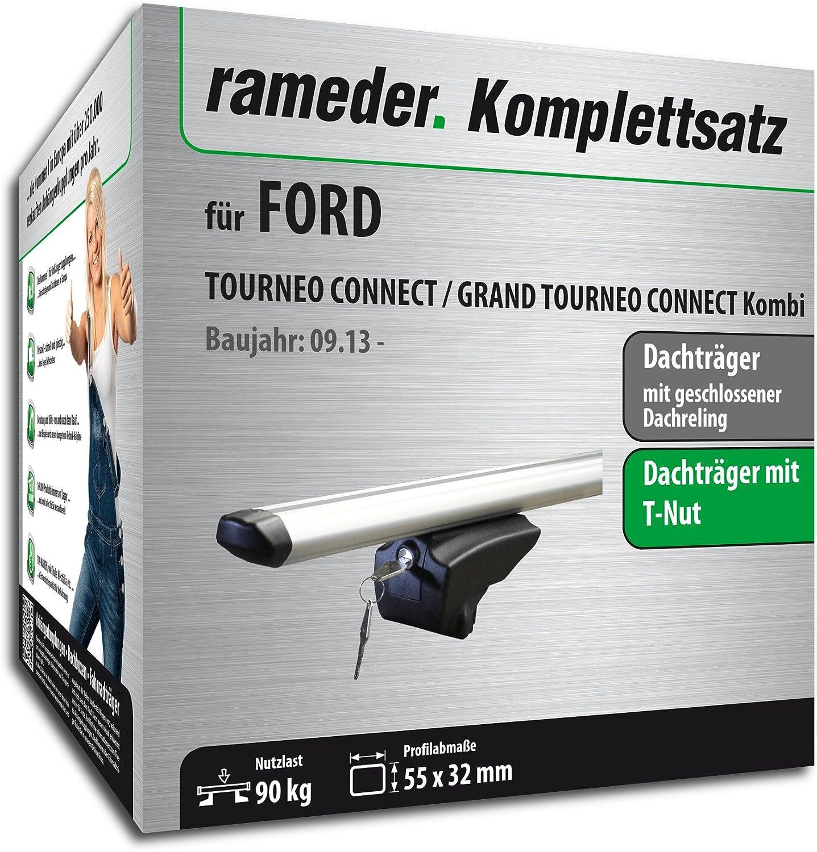 Rameder Komplettsatz 111287-11574-46 Dachtr/äger Pick-Up f/ür Ford TOURNEO Connect//Grand TOURNEO Connect Kombi