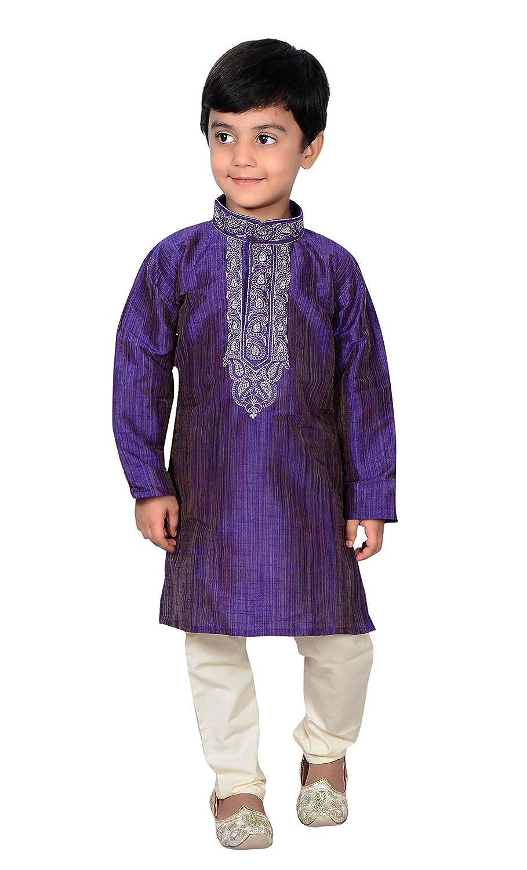 Indian Boys Sherwani Kurta with Churidar pajama for Bollywood theme party 857