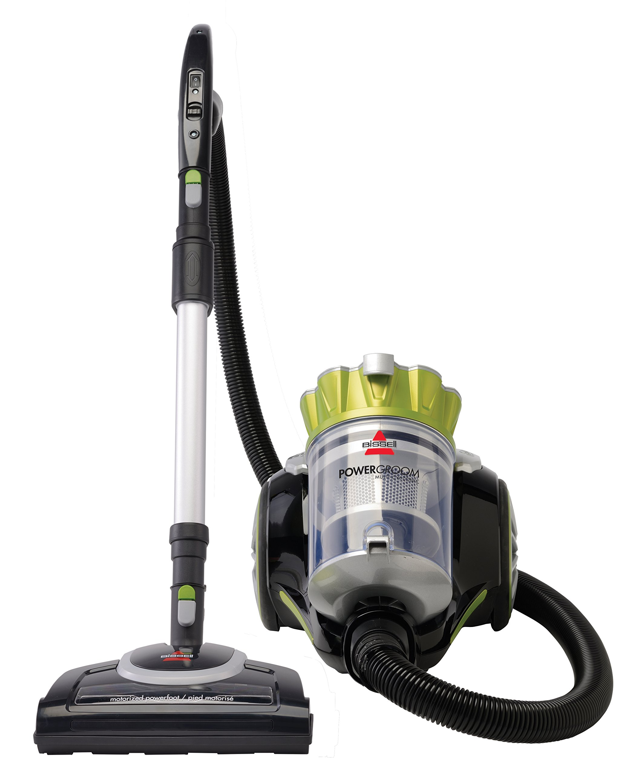 Bissell Powergroom Multicyclonic Bagless Canister Vacuum - Corded by Bissell