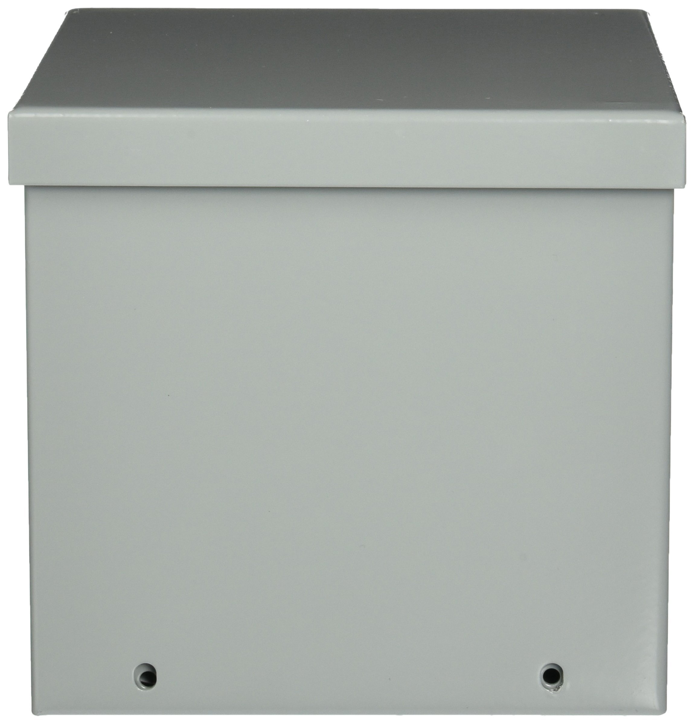 Hoffman A6R66 NEMA 3R Enclosure, Screw Cover, Galvanized, Paint Finish, 6'' x 6'' x 6''