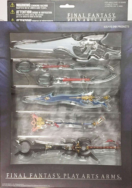 FINAL FANTASY PLAY ARTS ARMS 5 seed set (japan import)