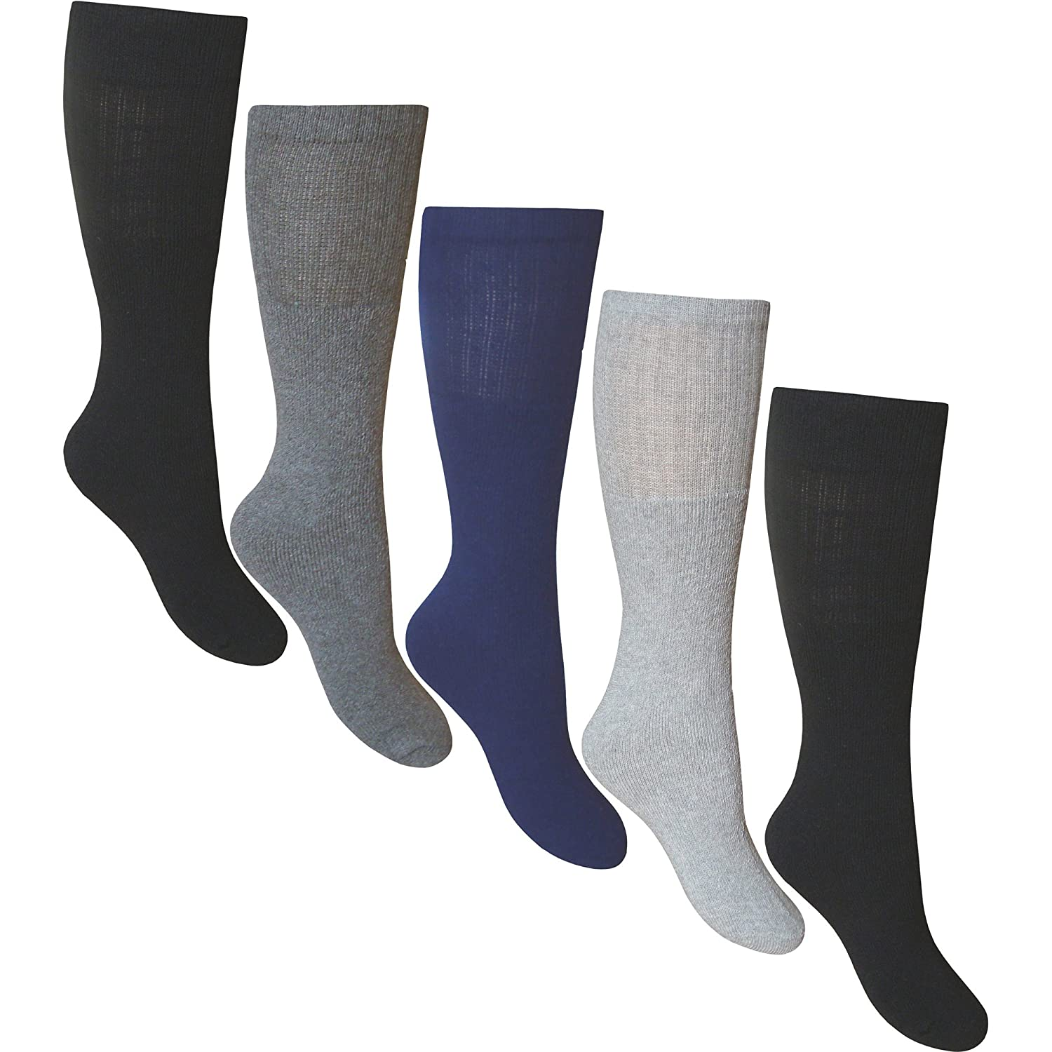 Pack Of 5 Mens Cotton Rich Sports Socks