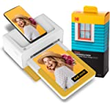 """Kodak Dock Plus 4x6"""" Portable Instant Photo Printer, Compatible with iOS, Android and Bluetooth DevicesFull Color Real…"""