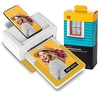 KODAK Dock Plus Instant Photo Printer Bluetooth Portable Photo Printer Full Color Printing Mobile App Compatible with…