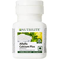 Nutrilite Alfalfa Calcium Plus 90 N Tablets (Combination Of Calcium, Magnesium & Vitamin D)