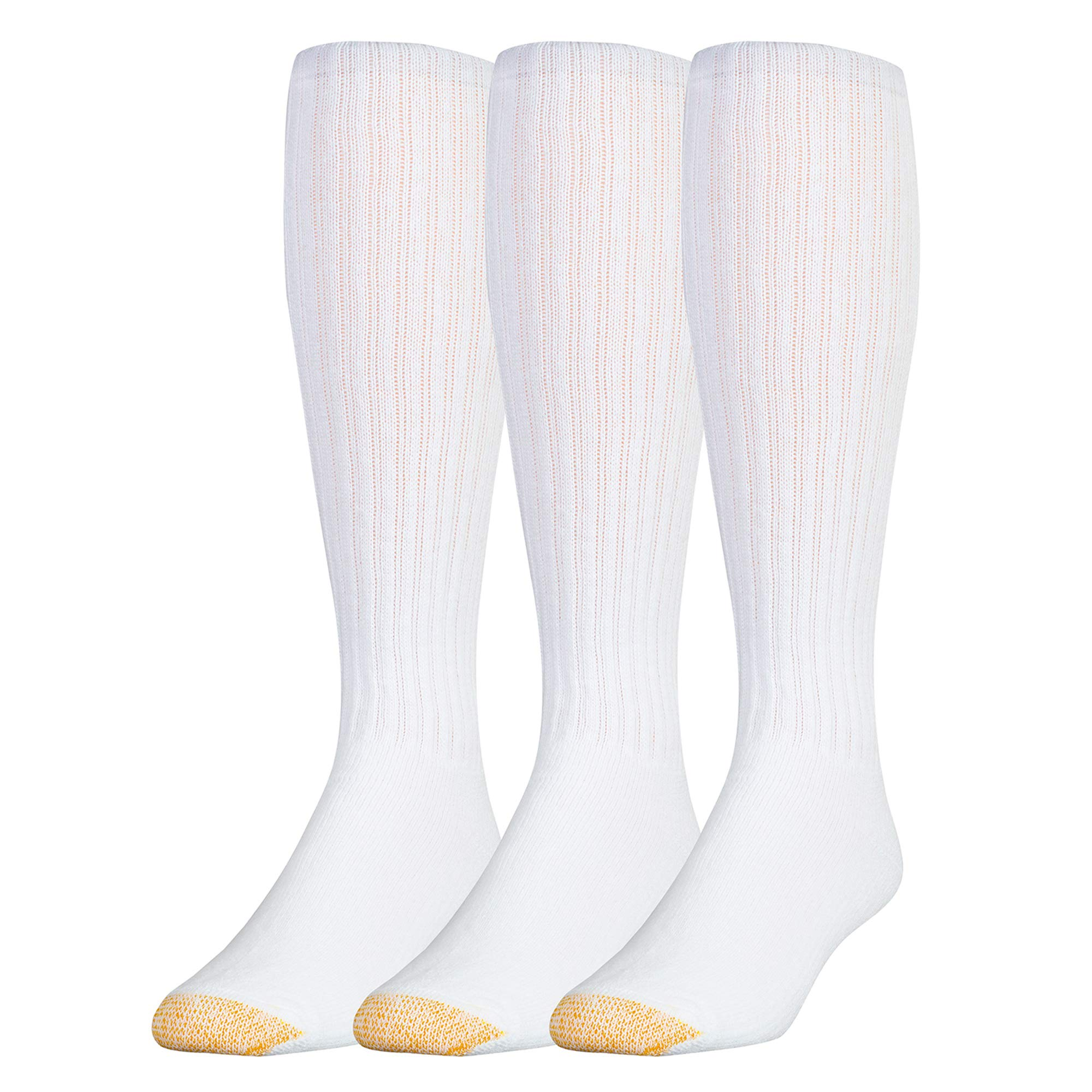 7013404f1b697 Gold Toe Men's Ultra Tec Performance Over The Calf Athletic Socks, 3-Pack  product