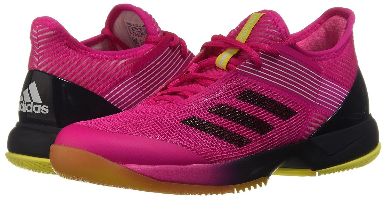 adidas Women's Adizero Ubersonic 3 B077X4PR4N 10 B(M) US|Shock Pink/Legend Ink/White