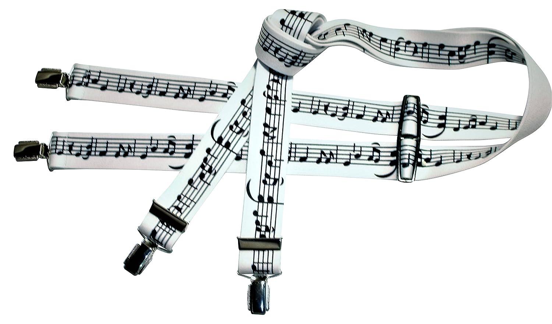 Teichmann Bretelles avec motif notes de musique