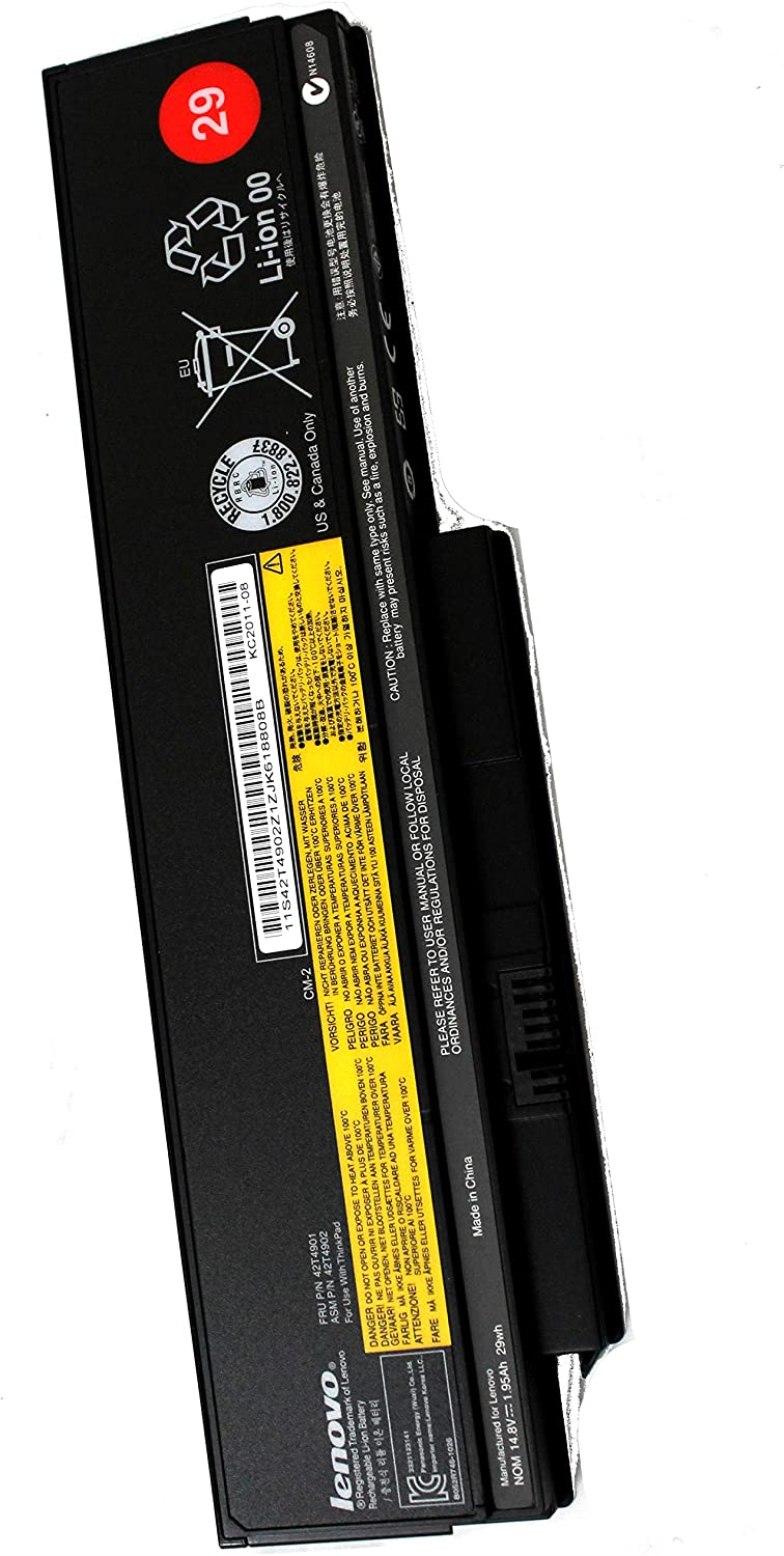 0A36281 Thinkpad Genuine OEM Battery 29 (4 Cell) 42T4901 42T4902
