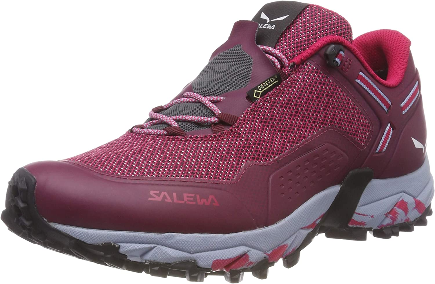 Salewa Women s High Rise Hiking Shoes Low, Red Red Plum Rose Red 6896, Women 2