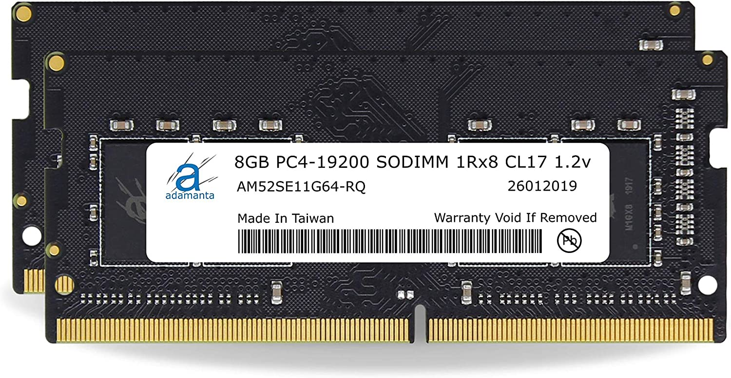 Laptop Memory Upgrade Compatible for Lenovo Legion IdeaPad ThinkPad /& V-Series DDR4 2400Mhz PC4-19200 SODIMM 1Rx8 CL17 1.2v RAM DRAM IdeaCentre Adamanta 16GB ThinkCentre 2x8GB