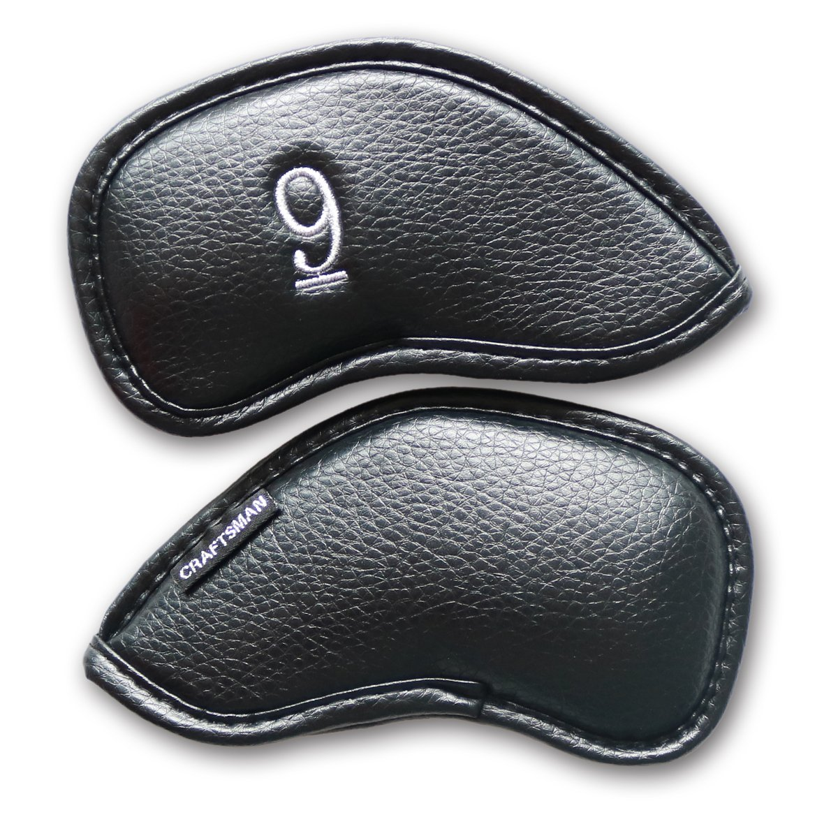 Craftsman Golf #3#4#5#6#7#8#9 AW SW PW LW Iron Headcovers Head Covers (#9) by Craftsman Golf