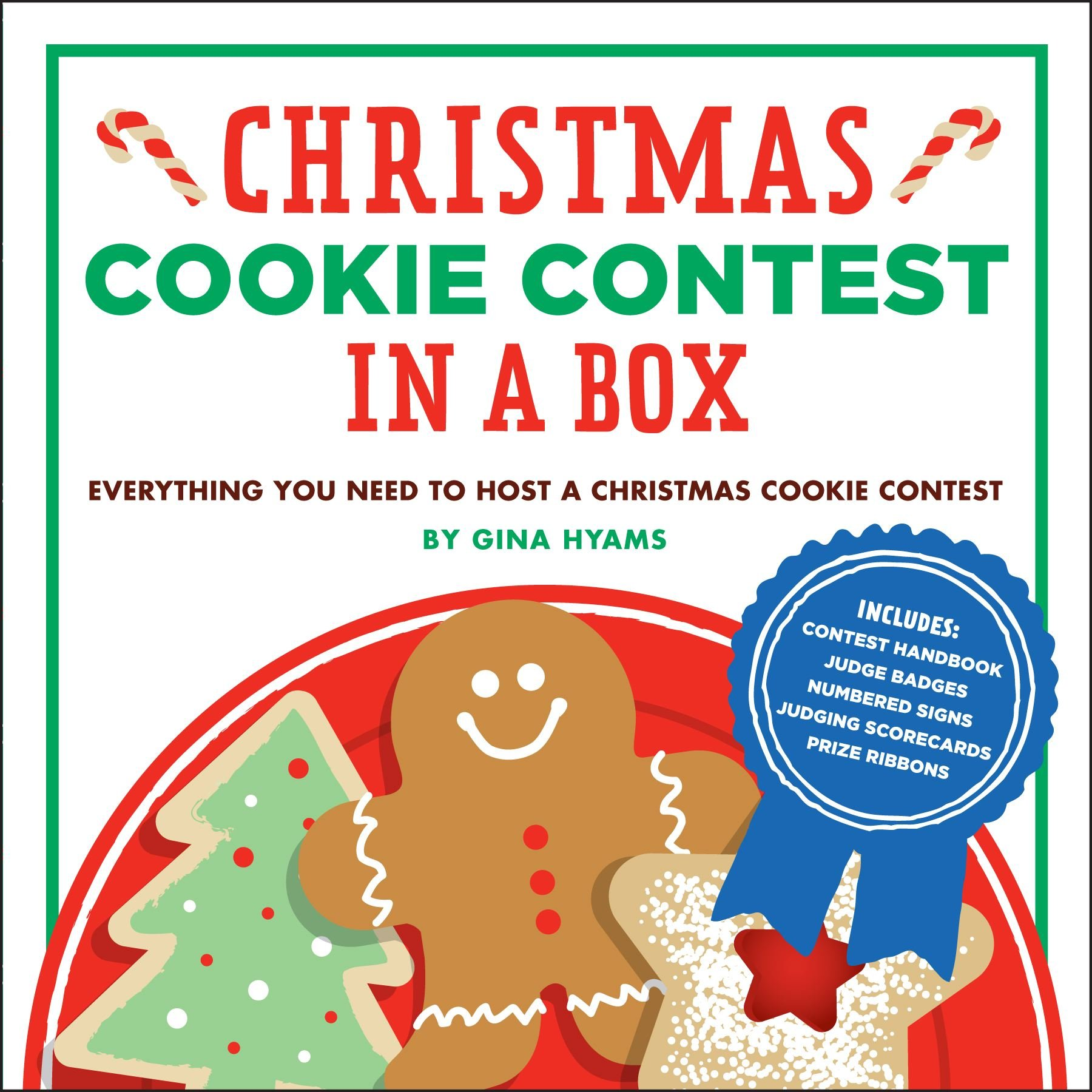Christmas Cookie Challenge Judges.Christmas Cookie Contest In A Box Everything You Need To