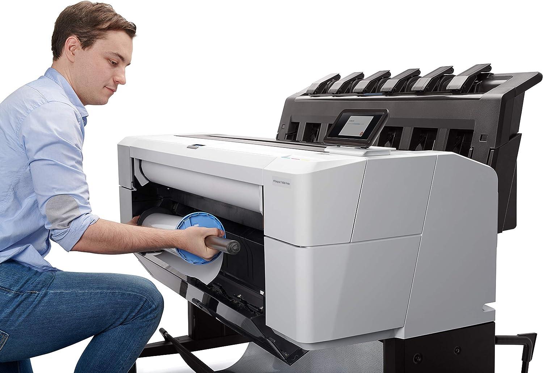 HP Designjet T1600dr - Impresora de Gran Formato (2400 x 1200 dpi, Inyección de Tinta, HP-GL/2,HP-RTL,PDF 1.7,Tiff, A0 (841 x 1189 mm), 14 cm, A0,A1,A2,A3,A4): Hp: Amazon.es: Informática