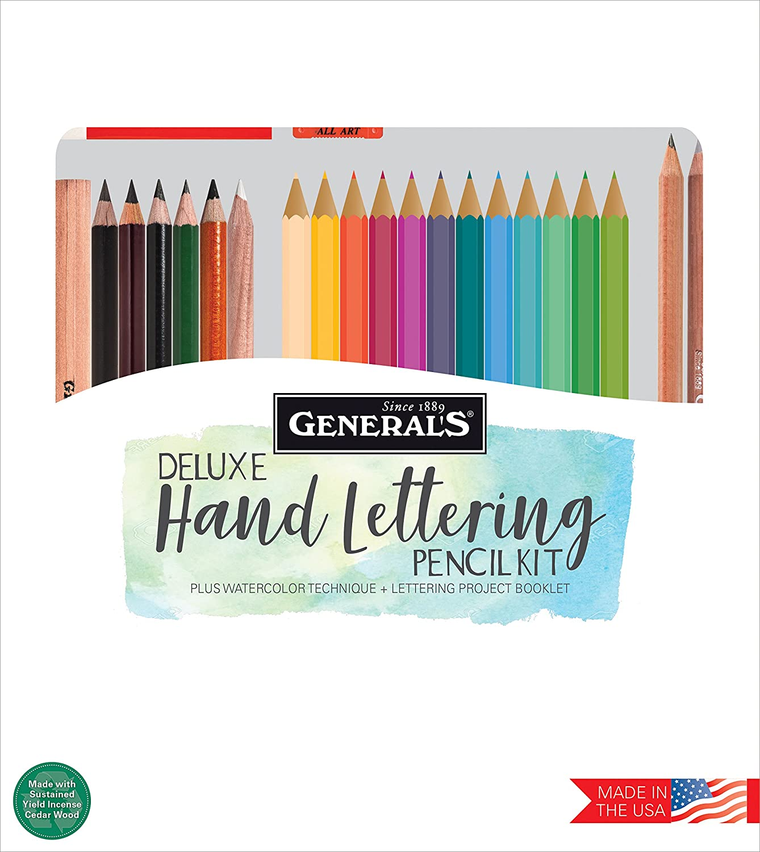 General Pencil Hand Hand Pencil Lettering Pencil Set of 24 (PL24) 6006e5