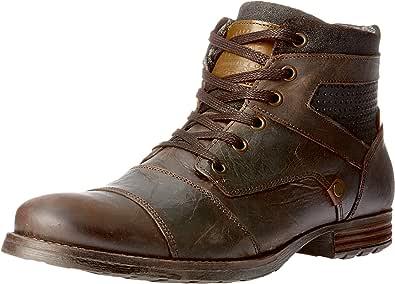 Wild Rhino Men's Dalby Shoes, Dark Brown, 7 AU (41 EU)