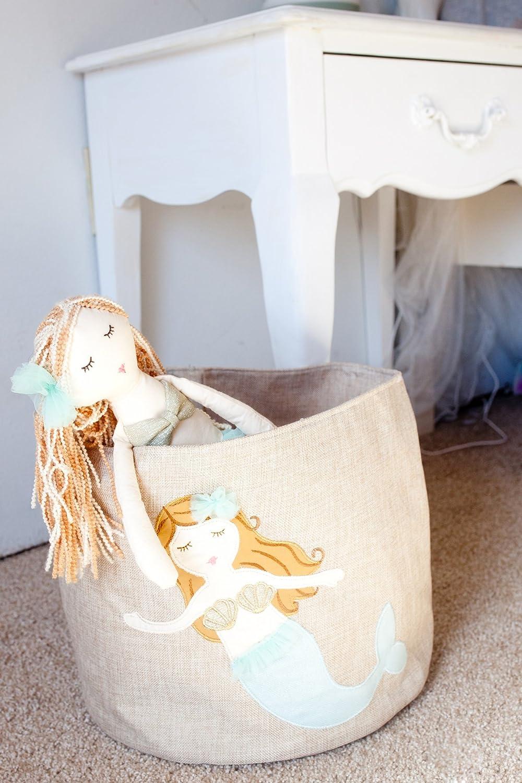 Ltd 76128 LX-026 15IN 15 15 Qingdao Jierlu Arts/&Crafts Co MON AMI Mermaid Designer Plush Doll Aqua