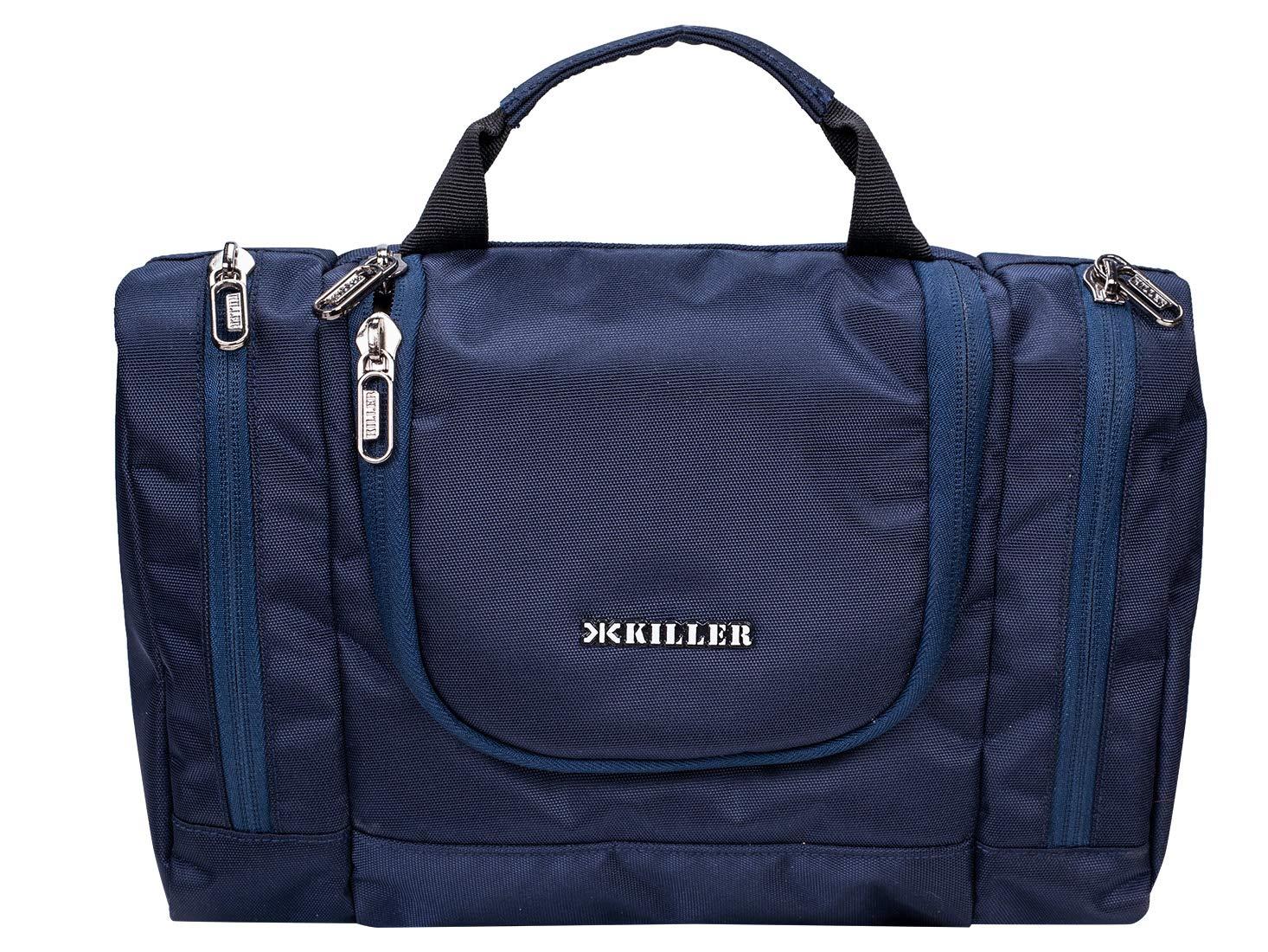 KILLER Polyester Toiletry Bag (Blue_400170290007) - Travel Kit