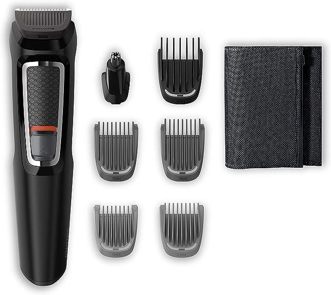 Philips MG3720/15 Recortadora para barba y pelo, 7 en 1 ...