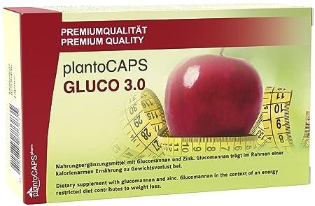 Abnehmen mit plantoCAPS® GLUCO 3.0 Kapseln
