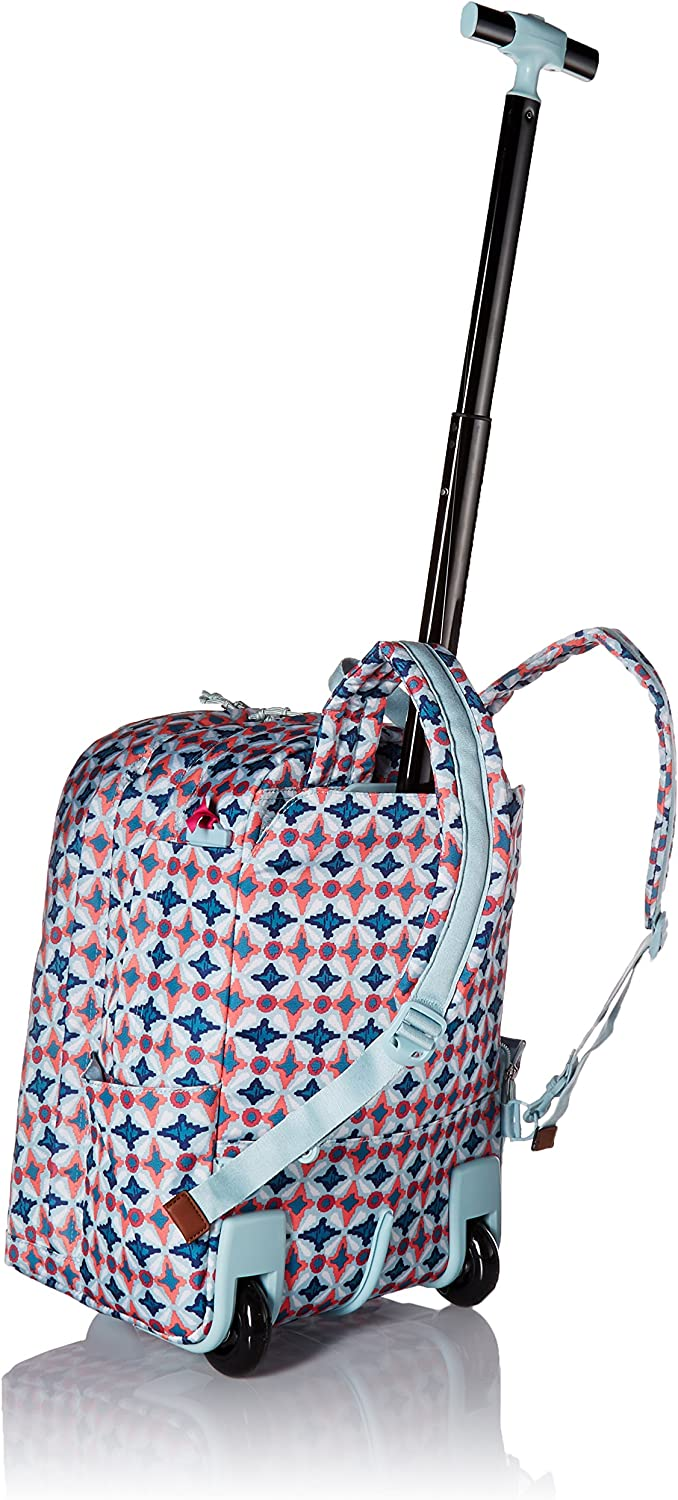 Vera Bradley Women's Lighten Up Large Rolling Backpack